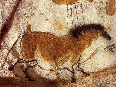 Horse at the Grotte de Lascaux