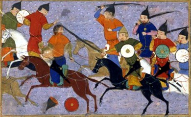 Battle between Mongols and Chinese (1211)