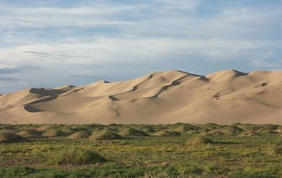 Khongoryn Els sand dunes in the Gobi Gurvansaikhan National Park