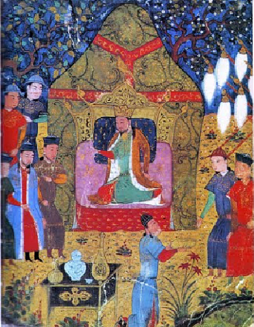 Genghis Khan proclaimed Khagan of all Mongols