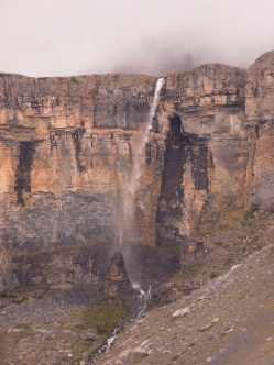 Mont Démant waterfall