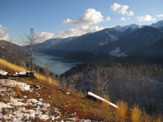 Carpenter Lake, BC, Canada