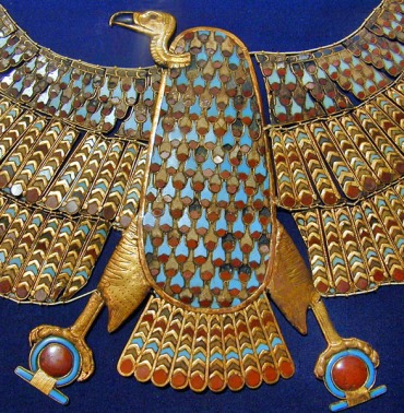 Vulture-goddess Nekhbet, Egypt