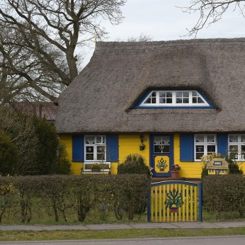 Thatched cottage, Fishland-Darss-Zingst