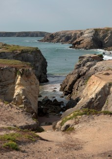 Port Bara beach, Quiberon